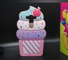 Cute 3D Super Cute Ice Cream LG V10 H968 Silicone Case