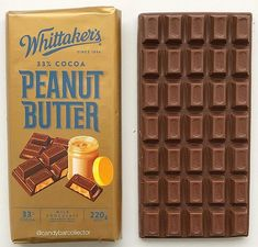 Whittakers Peanut Butter Chocolate Bar (new zealand) Peanut Butter Chocolate Bars, Yum Yum, 30th, Cocoa, Candy, Theobroma Cacao, Sweets, Hot Chocolate, Candy Bars