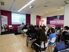16/03/2016 Seminario del Programa Europeo JobClub+. Ponencia sobre el Proyecto Piloto en Valladolid.
