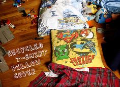 Sewing pillows?  I can handle that! This is so awesome and makes me want my sewing machine back up and running