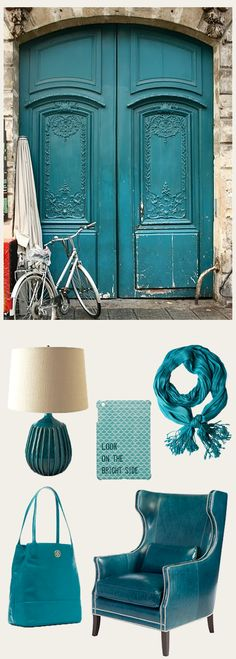 That chair!!! Peacock Blue- Fashion and home decor inspiration