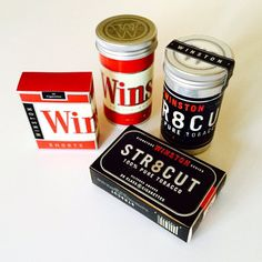 winston cigarettes and tobacco packaging