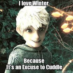 Jack Frost pick-up lines HAHA