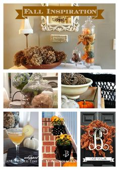 great Fall Decor ideas and inspiration