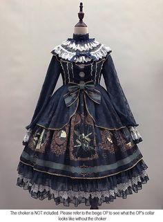 Angel's Heart -The Dream of Arcana- Lolita Long Sleeves OP Dress