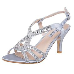 ffbffd8649082a online shopping for SheSole Women s Rhinestone Prom Shoes Low Heels Wedding  Sandals from top store. See new offer for SheSole Women s Rhinestone Prom  Shoes ...