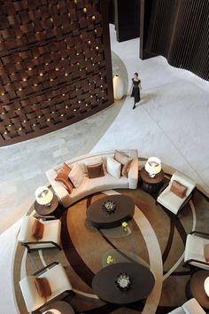 lobby lounge-looks like Address Hotel Dubai Lounge Design, Design Hotel, Lobby Design, Design Design, Modern Design, Lobby Interior, Interior Exterior, Interior Architecture, Interior Design