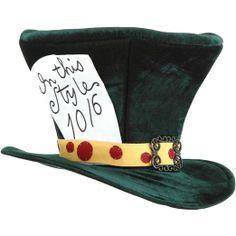 Alice in Wonderland Mad Hatter Hat