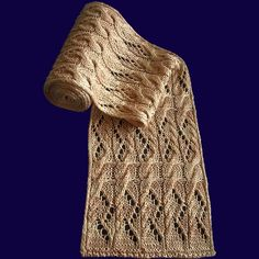 Lacy Scarf Knitting Patterns | In the Loop Knitting