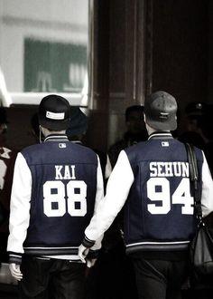 SeKai ^^ #EXO #Sehun # Kai