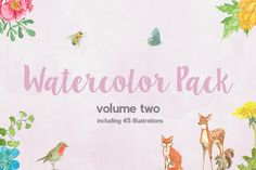 Watercolor Pack (vol two)