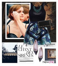"""Emma Watson"" by dora04 ❤ liked on Polyvore featuring Emma Watson, Zimmermann, Valentino, Forever 21, women's clothing, women, female, woman, misses and juniors"