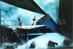 Set design for BILLY BUDD, Opera Theater of Saint Louis