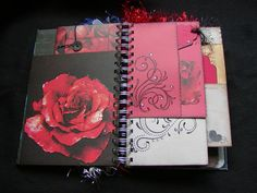 JUNQUE Journal ~ SMASH book Junk journal ~ Doodling Album~ One of a Kind! :D