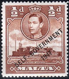 Malta 1948 King George VI Self Government SG 235 Fine Mint SG 235 Scott 209 Other British Commonwealth Empire and Colonial stamps Here