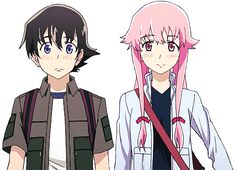 Have a transparent Yuno and Yuki walking on your blog (=^-ω-^=)