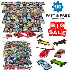 100 Pcs Car Toys Set Boys Outdoor Activity Racing Cars Die-Cast Vehicle Fun Toy #Unbranded #2DifferentMilitaryTankersForGreatImaginativePlay