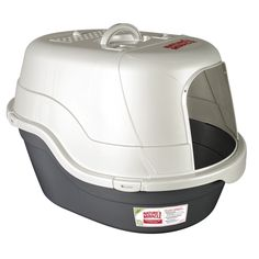 Nature's Miracle Hooded Flip-Top Cat Litter Box With Odor Co.-Nature's Miracle Hooded Flip-Top Cat Litter Box With Odor Control Charcoal Filter Litter Box Smell, Litter Box With Lid, Hooded Litter Box, Cat Litter Pan, Cat Litter Brands, Litter Box Covers, Nature's Miracle, Cat Toilet, Thing 1