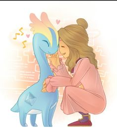 Oh my gosh. The kawaii. She is melting my face. o.o thats like me and one of my favs!!