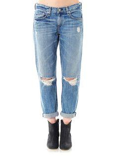 Rag & Bone, Moss mid-rise boyfriend jeans