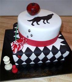 Tremendous 35 Best Twilight Cakes Images Twilight Cake Twilight Cupcake Cakes Funny Birthday Cards Online Overcheapnameinfo