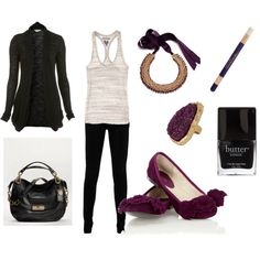 Fuchsia shoes and accessories