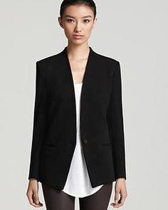 I want this perfectly cut Helmut Lang blazer.