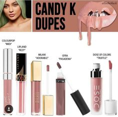 "Kylie dupes..""candy k"""