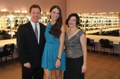 Broadway great Sutton Foster, center, with SCFTA president Terry Dwyer and Amy Dwyer at the Candlelight Concert benefiting the Segerstrom Center for the Arts (photo: Happy Photos, courtesy of the Segerstrom Center for the Arts)