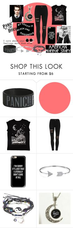 """Spending The Day With Brendon Urie And Evan Peters"" by panicat21pilots on Polyvore featuring Casetify and Bling Jewelry"