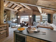 Chalet Patagonia - OVO Network, La Clusaz – aktualizované ceny na rok 2019 Chalet Design, Chalet Style, House Design, Bar Design, Alpine Chalet, Swiss Chalet, The Chalet, Cabin Homes, Log Homes