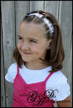 Girly Do Hairstyles: By Jenn: An EASY One for Long or Short Hair