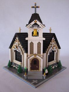 #creator #modular #kirche #lego #haus #mocLEGO Creator Modular Haus Kirche MOC Lego Creator, Lego Minecraft, Lego Moc, Lego Winter Village, Lego Building, Building Ideas, Lego Christmas, Lego Modular, Lego Castle