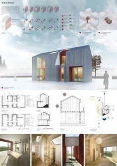 Od úzkého domečku v proluce až po samostatně stojící dům. Architektonický koncept navržený tak, že se přizpůsobí místu a jeho uživateli. Palec nahoru pro architekta!