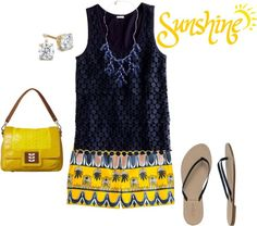 """""""Scroll Print Shorts (2)"""" by m3mom ❤ liked on Polyvore"""