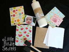 Little Birdie Secrets: how to make your own notepads