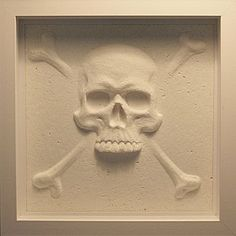 Paper Skull and Crossbones