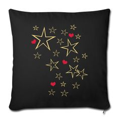 Viele Sterne mit Herzen - Many Stars with Hearts