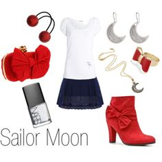 Sailor Moon Inspired Outfits | kcreol