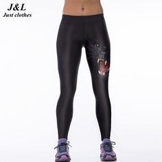 3d2d6339cfe Fashion 3D Leggings Women Sexy New Sporting Fitness Pants Dragon And Skull  Digital Print Elastic Skinny