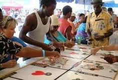 Crown and Anchor. This is the only time Bermudians are allowed to gamble.    BE IN BERMUDA THIS SUMMER