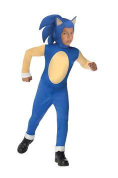Boys Sonic Costume - Sonic the Hedgehog - Party City Canada Sonic The Hedgehog Halloween Costume, Halloween Costumes For Kids, Halloween 2014, Baby Halloween, Halloween Crafts, Video Game Costumes, Boy Costumes, Costume Ideas, Sonic Kostüm