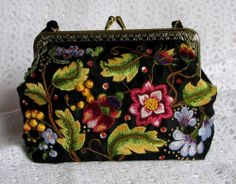 A blog post talking about how needlework is sometimes seen as a punishment rather than a pleasure - it mentions this handbag, which I made from a design by Susan O'Connor of Inspirations magazine.