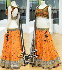 Choli Designs, Lehenga Designs, Blouse Designs, Indian Skirt, Indian Dresses, Indian Outfits, Lehenga Pattern, Lehanga Saree, Lahenga