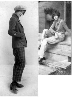 Image result for 1920s womens pantsuits