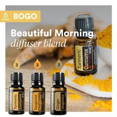 Doterra Diffuser, Essential Oil Diffuser Blends, Doterra Essential Oils, Essential Oil Uses, Natural Essential Oils, Natural Oils, Turmeric Oil, Magick, Aromatherapy