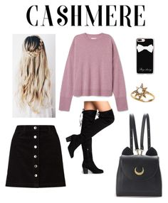 """""""Cashmere"""" by lostbabygirl ❤ liked on Polyvore featuring Miss Selfridge, Anzie, Casetify and WithChic"""
