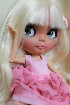 RESERVED Anya Custom Blythe Doll OOAK Art by NDsDazzlingDollys