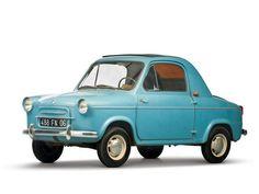 1957 Vespa 400 Minicar   Car Pictures