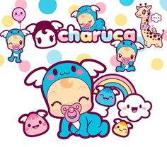 Charuca baby and his friends